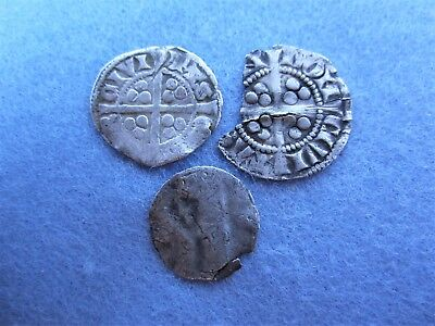 3 x Hammered Coins