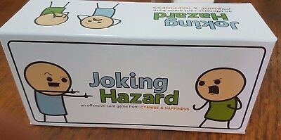 Joking Hazard Card Game NOT For Kids Fun Offensive Edition Party Play Cards