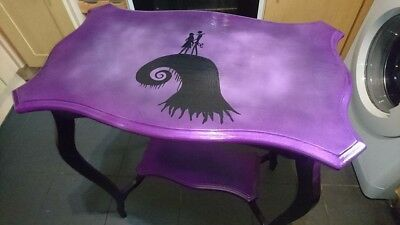 Handmade Nightmare Before Christmas table.