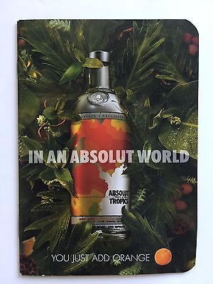ABSOLUT Vodka - Absolut Tropics - Heft mit Rezepten
