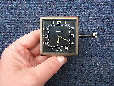 Vintage Smiths 8 Day Car Clock Sunbeam Riley Mg Austin Morris Ford Daimler Alvis