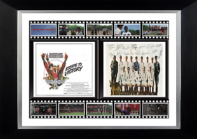 Escape To Victory Movie Mounted Display