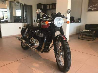 Triumph bonneville t100 bordeaux/nero limited edition