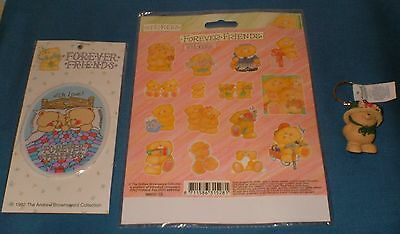 A Collection Of Vintage Forever Friends Items Mint Condition