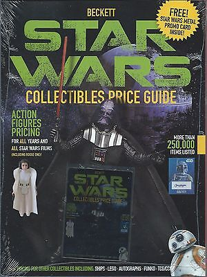 Beckett Star Wars Collectibles Price Guide 2017 Includes Promo Card