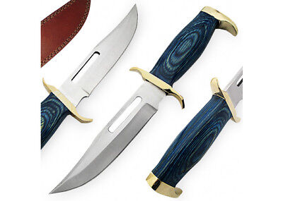 Fixed Blade Tanzania Ridge Hunting Knife