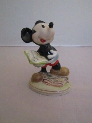Beswick RARE DISNEY MICKEY MOUSE  on a GOLD Backstamp 1952-1965