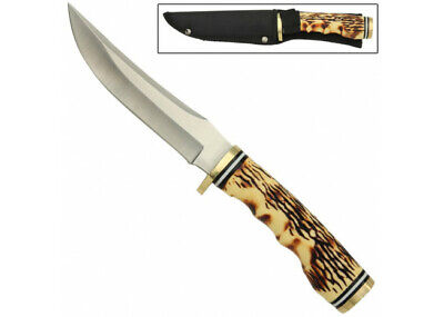 Rocky Mountain Stag Fixed Blade Outdoor Hunting Knife