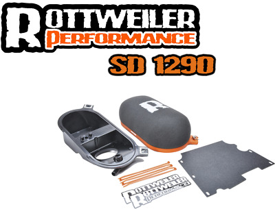 KTM 1290 SUPER DUKE R ROTTWEILER INTAKE SYSTEM, Performance air filter STAGE 1