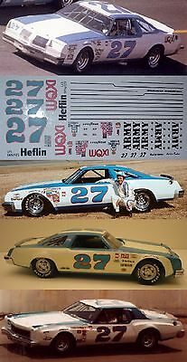 Buddy Baker #27 1975 ARMY Chevy Monte Carlo 1/24th scale decals LoboGraphix