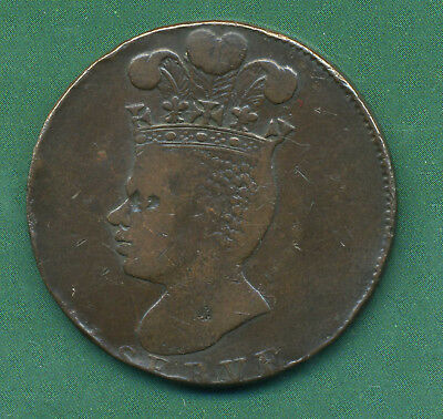 1788 Barbados One Penny.