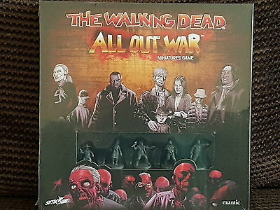 The Walking Dead: All out War.28mm miniatures skirmish gaming.