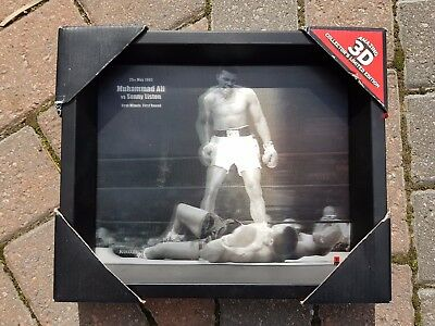 Muhammad Ali V Sonny Liston First Round First Minute 3D Motion Poster Photo