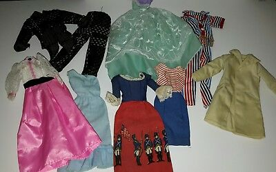 10Pcs/Lot Fashion unmarked Casual Clothes Outfits For Barbie type Dolls