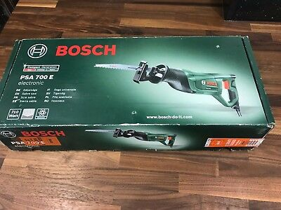 Bosch PSA700E Reciprocating Saw Excellent Condition