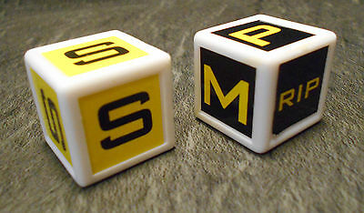 ROBOT WARS House Robot & Attack Damage Dice, Spare Playing Piece/Part VGC
