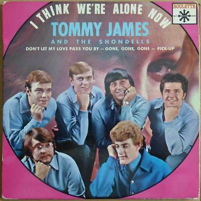 "7"" EP Tommy James And The Shondells - I Think We're Alone Now - FR 67 - RAR"