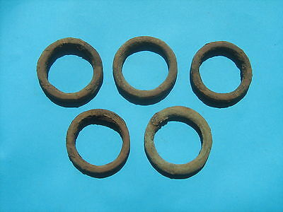 Ancient Viking bronze ring 5 pieces