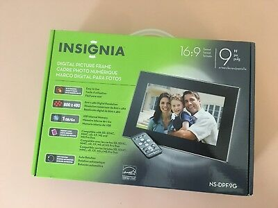 Insignia Digital Picture Frame - 9""