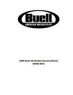 Buell Xb Models (2008) Electrical Diagnostic Manual