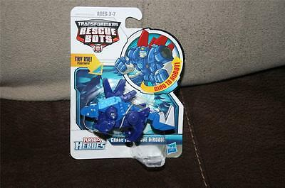Transformers Rescue Bots Playskool Chase The Rescue Dinobot Minty Fun FREE SHIP