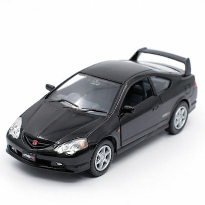 Honda integra Type-R Model Cars 1:34 Toys Gifts Alloy Diecast & Collection Black