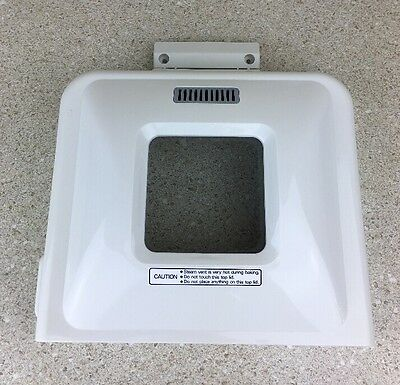 Breadman TR-440 Bread Machine Replacement Parts Lid With Screws