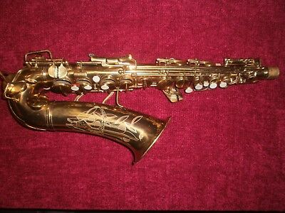 Conn 6M Transitional with New York Neck ORIGINAL LACQUER Alto Saxophone Sax