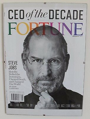 APPLE STEVE JOBS, Portada Cover, FORTUNE Revista Magazine 2009