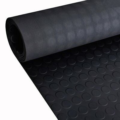 Smooth or Fine Groove Rubber Flooring Matting for Garage, Van Car Roll Mat