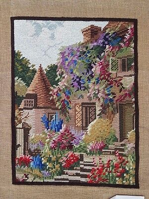 """Small Tapestry Wool / Needlepoint / Ideal Cushion stitching (11"""" x 15"""")"""
