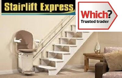 Stannah 260 curved stairlift reconditioned fitted &12 month warranty'
