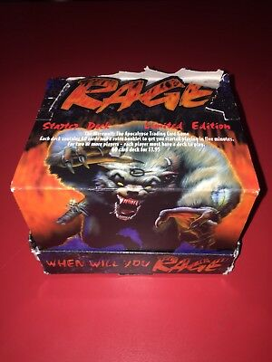 Rage CCG Limited Edition Starter Deck Display Box
