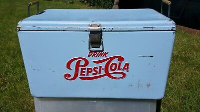 Pepsi Cola Cooler 1950's Still Works!