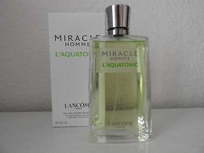 Lancome Miracle Homme L' Aquatonic 125 ml EdT fast neu Original Rar Top!