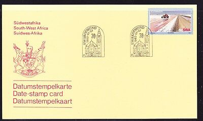 South West Africa  1982 Date Stamp Card