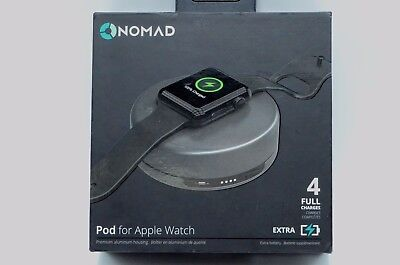 Nomad Pod Portable Charger for Apple Watch - 4 Full Charges - POD-APPLE-SG-001