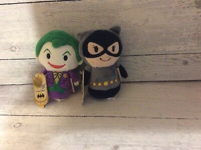 Hallmark Itty Bitty Limited Edition Joker and Catwoman - NWT!