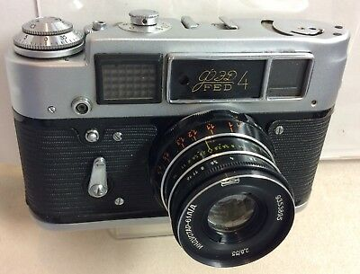 vintage Fed4 camera from Soviet Union- 2nd version