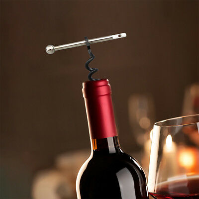 Multiuse Innovative Key Chain Pocket Type Portable Wine Cork Screw Bottle Opener
