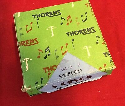 THORENS Music Discs For AD 30 Automatic Music Box 3 Discs Christmas