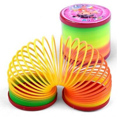 3x Rainbow Magic Spring/Slinky Walking Stair toy Great for Xmas stocking fillers