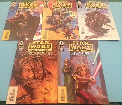Comics Star Wars Tales of the Jedi Redemption Complete Set of 5
