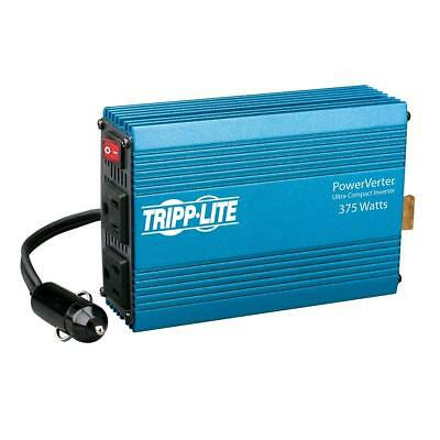 Tripp Lite 375W Car Power Inverter with 2 Outlets, Auto Inverter, Ultra...