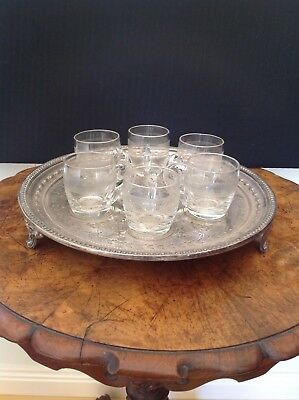 Antique Glass Custard Cups