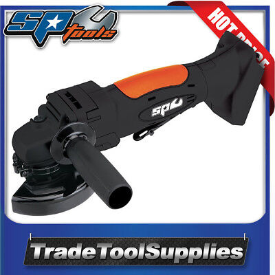 SP Tools Angle Grinder Cordless 18v SP81312BU TOOL ONLY