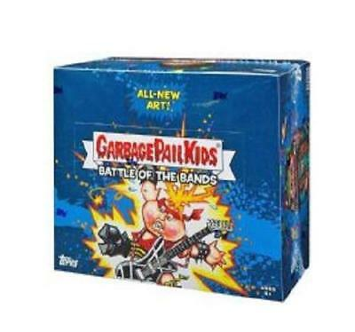 2017 Garbage Pail Kids Battle Of The Bands Hobby Sealed Box