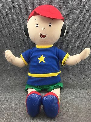 "17"" Stuffed Plush Caillou Doll Talking/singing 2002 Cinar Corporations"