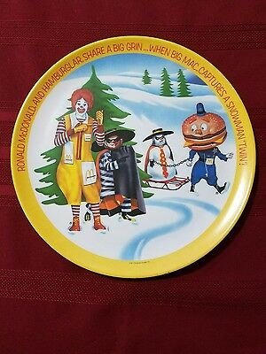 Ronald McDonald Plate marked on back Lexington dated 1977