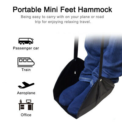 Portable Mini Office Foot Rest Stand Desk Feet Hammock Easy to Disassemble New